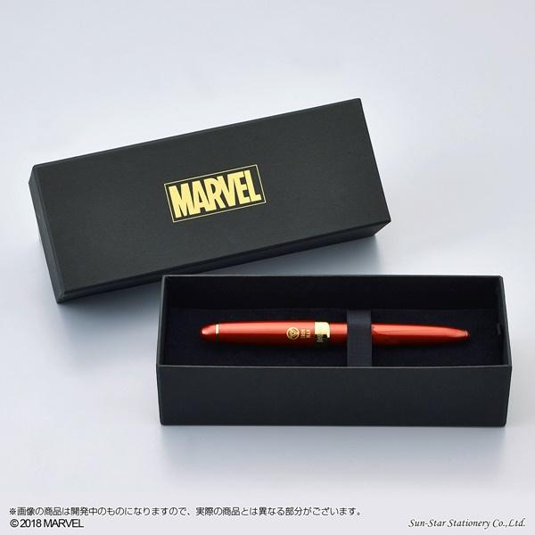 「MARVEL」デザイン万年筆 アイアンマン