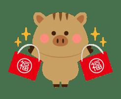 2019年福袋イラスト