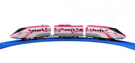 鉄道玩具「プラレール」シリーズの新商品「SC-07 ハローキティ新幹線」