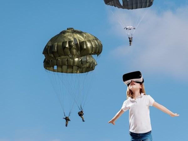 陸上自衛隊の訓練をリアルVR体験