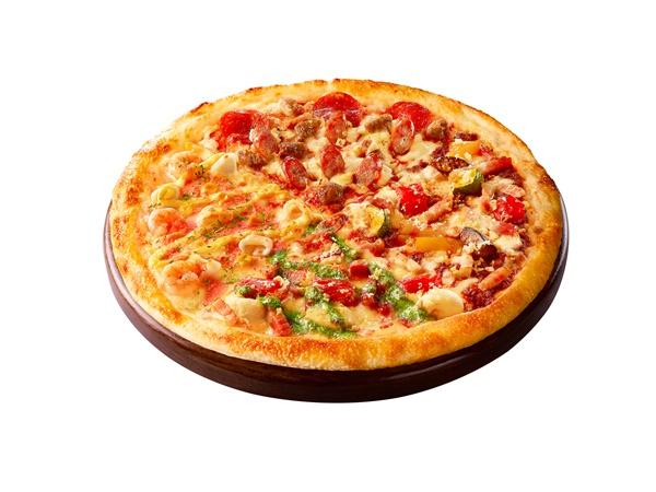 ピザハットの感謝祭「グルメマニア4」がお持ち帰りで60%OFF!