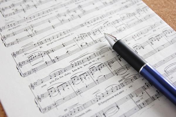 楽譜のイメージ写真