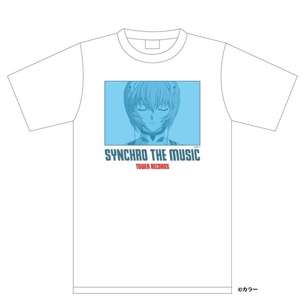 シン・エヴァンゲリオン劇場版 × TOWER RECORDS Tシャツ レイ