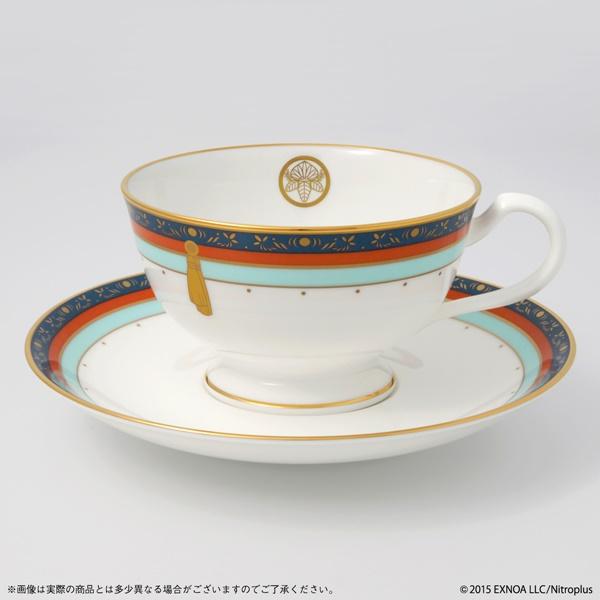 一期一振、鶴丸国永モチーフの 『ティーカップ&ソーサーセット』