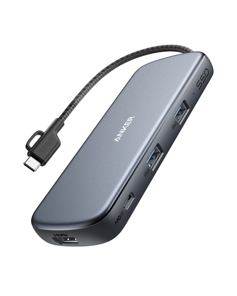 「Anker PowerExpand 4-in-1 USB-C SSDハブ(256GB)」