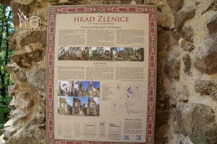 Hrad Zlenice ©️Pavel www.random-times.com