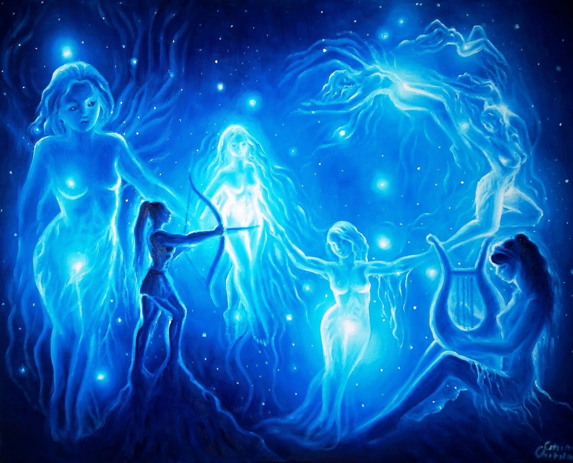 Pleiades: mythology of the Seven Sisters