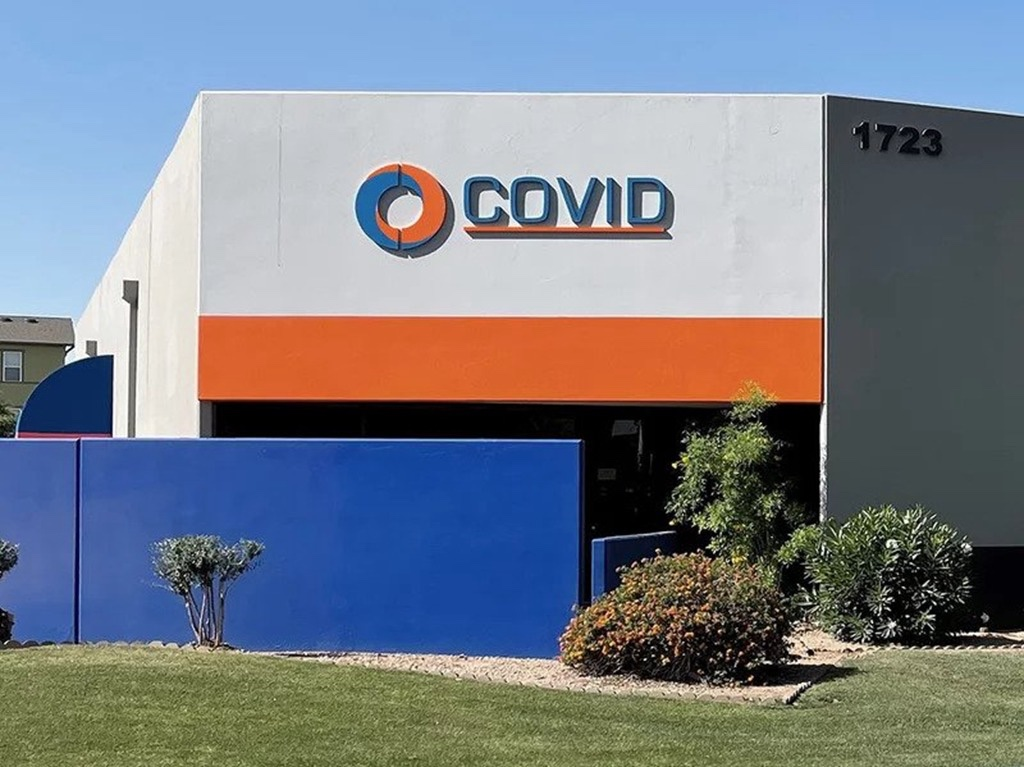 Covid, in Arizona they had it first!