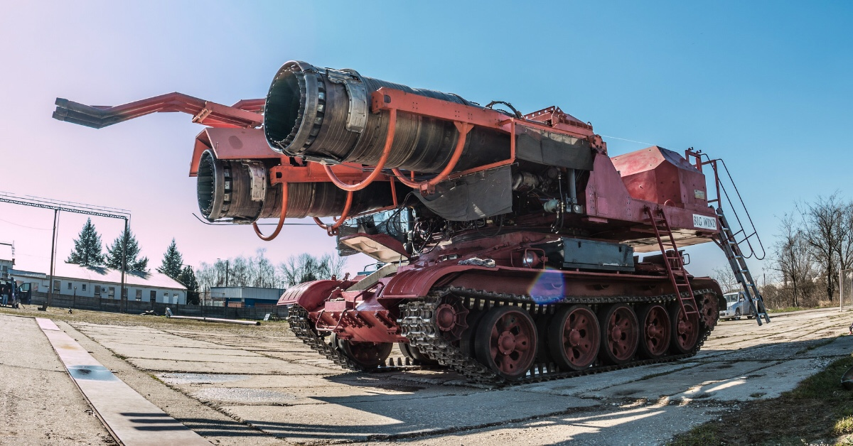 Big Wind: the most powerful firetruck ever built