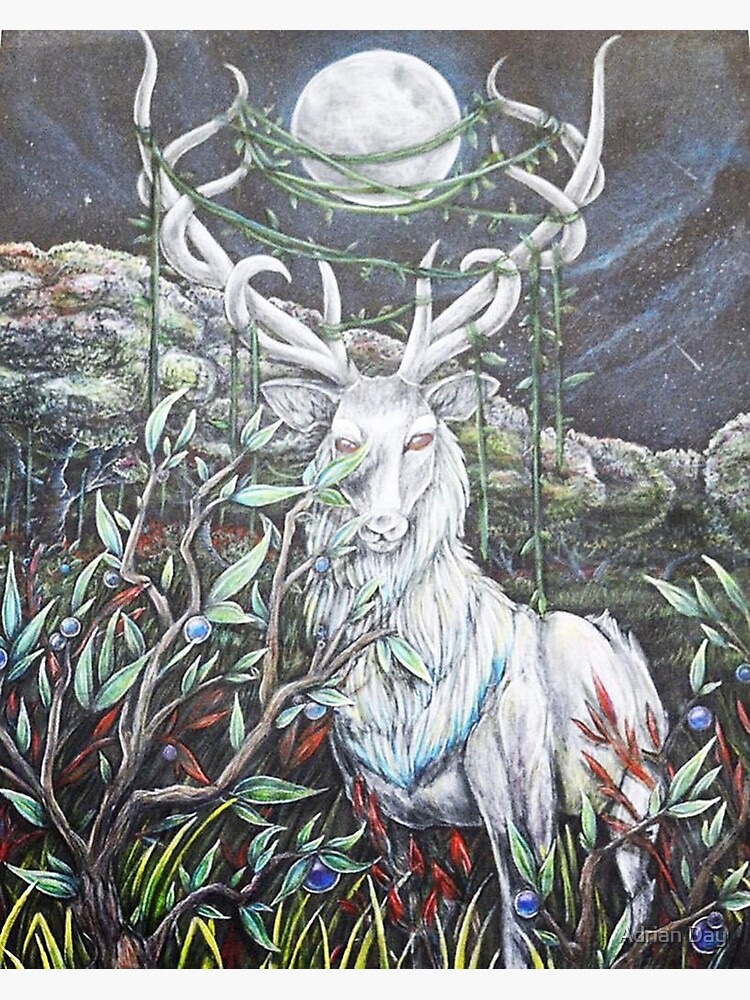 White deer in myths and legends