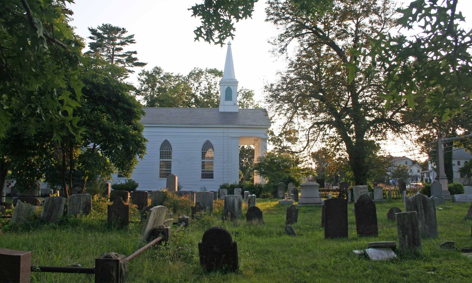 Piscatawaytown Burial Ground and the witch of Edison