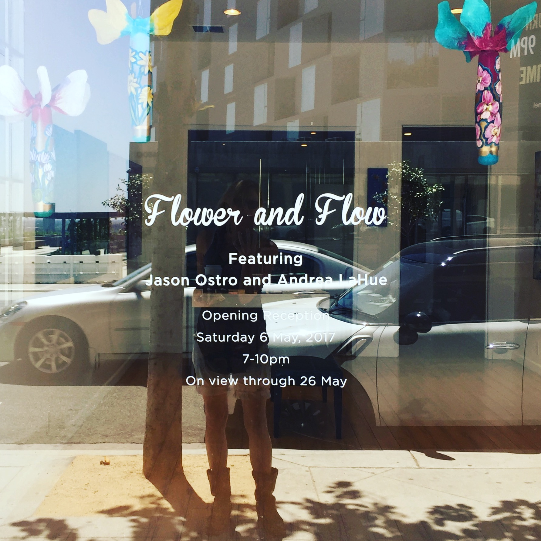 """Preview: """"Flower and Flow"""", an Exhibition of Paintings by Jason Ostro & Andrea LaHue – May 6th"""
