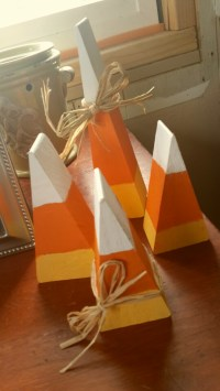 15 Clever Candy Corn Crafts | Random Acts of Crafts