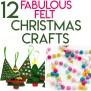 12 Fabulous Felt Christmas Crafts Random Acts Of Crafts