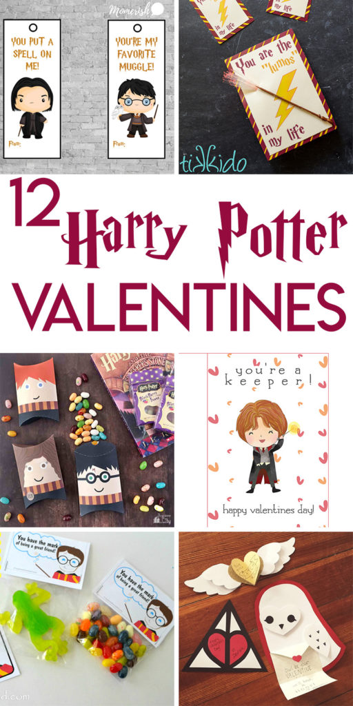 12 Magical Harry Potter Themed Valentines Day Cards