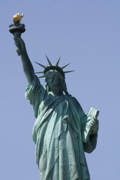 Ol' Lady Liberty lookin' good.