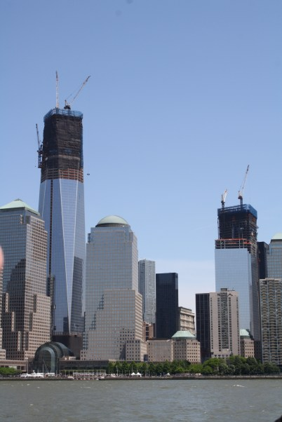 View of the new towers.