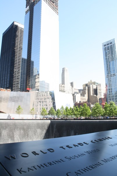 World Trade Center as one of the victims on the plaque.