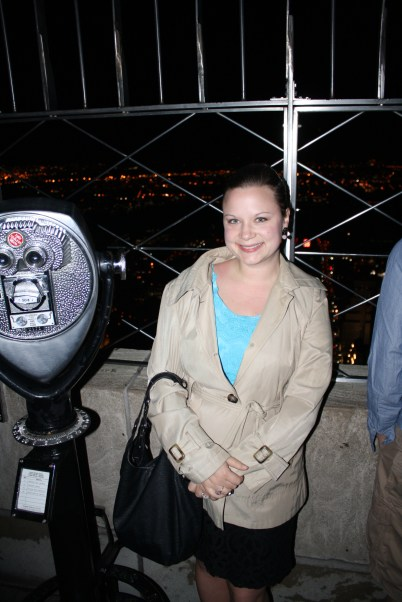 Me on top of the Empire State Building.
