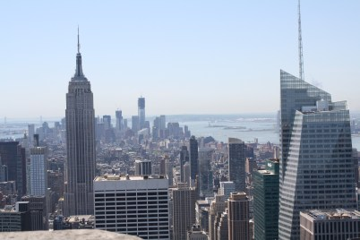 The city from the Top of the Rock.