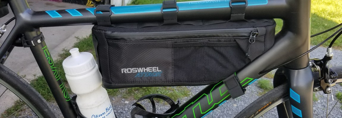 Review – Roswheel Attack Bike Frame Bag