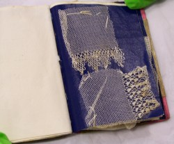 Lace booklet - Fitzwilliam Museum, Cambridge, England  Photo:  Julie Buck