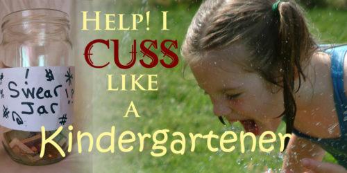 Cursing like a kindergartener