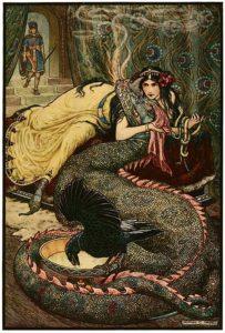 fairy-tale-dragon; dragon etiquette