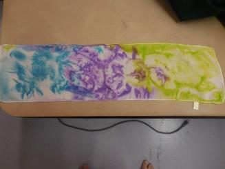Silk Dyeing Fun!