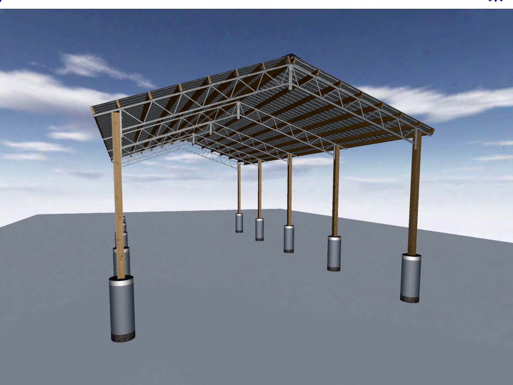 Pole barn design random designs inc for Pole building design ideas