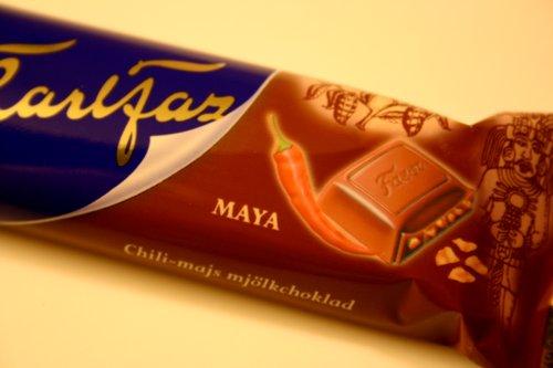 Fazer's new chili chocolate