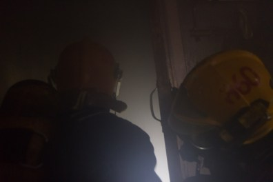 firegfighters entering smoky room