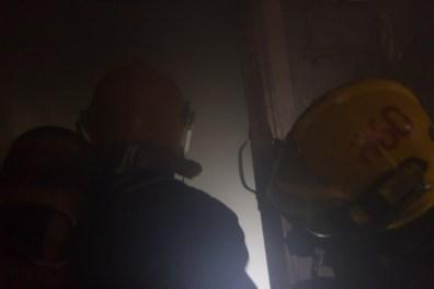 firegfighters entering smoky room