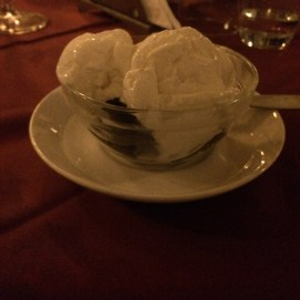 Late night brownie dessert