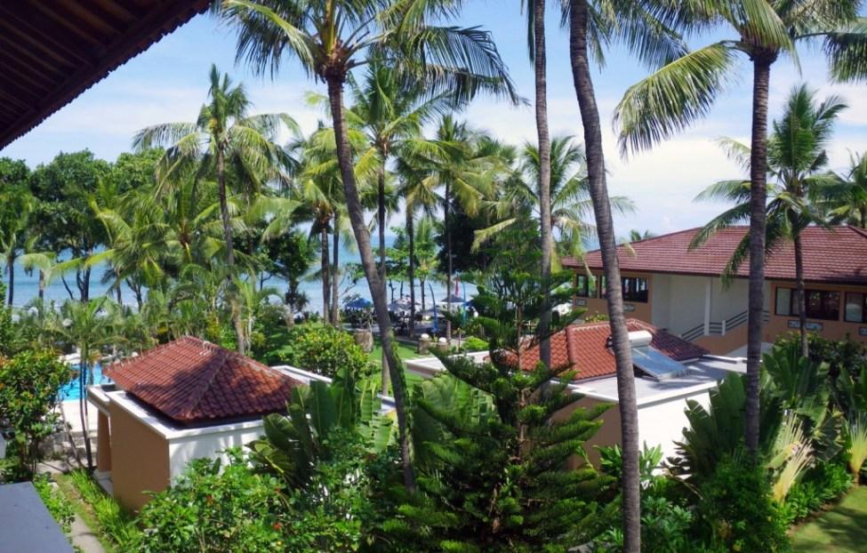 bali hotel view