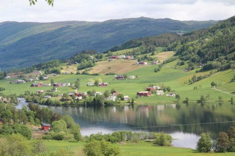 Rolling Hills, Lakes, Norway