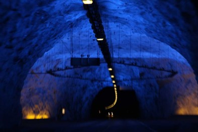 Norway Tunnels - Longest was 30 minutes