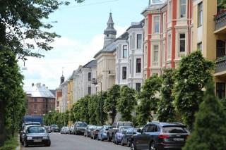 High end Oslo neighbourhood
