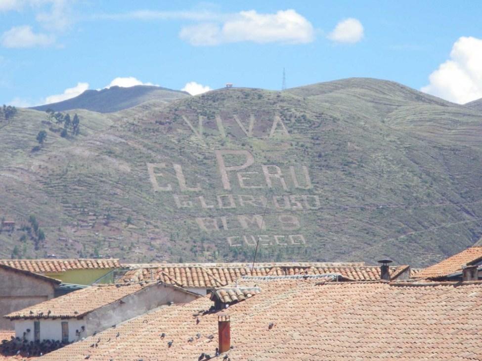 Cusco hill side