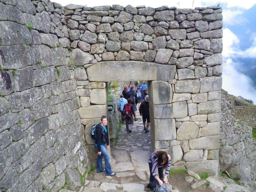 Door to Machu Picchu