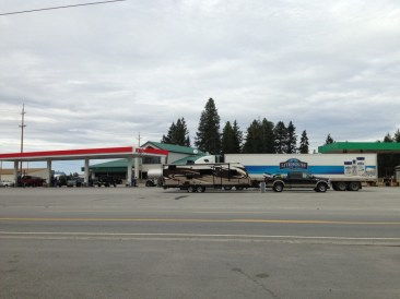 The rig in Bonners Ferry Idaho (Ipone)