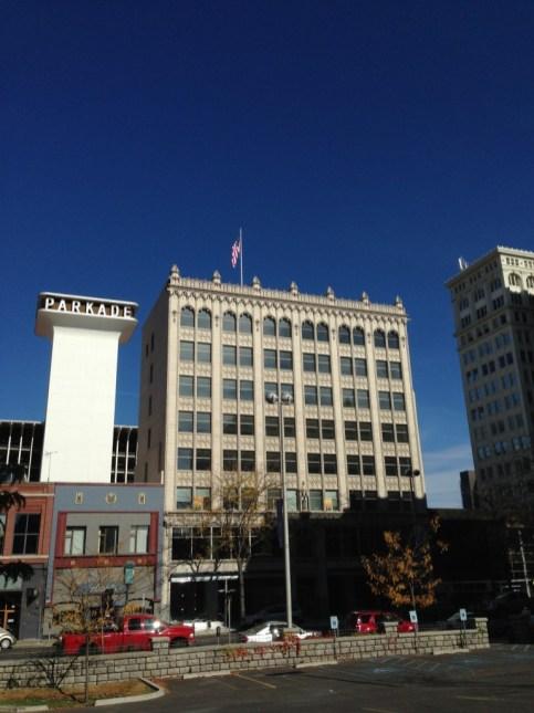 Downtown Spokane (Iphone)