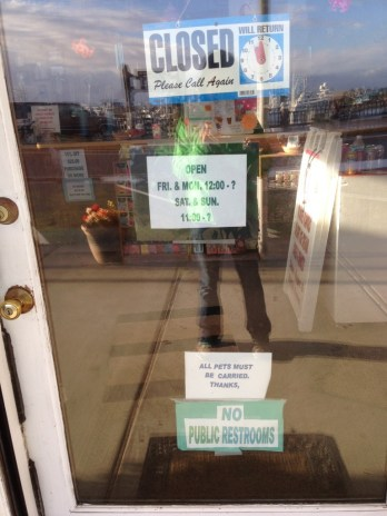 Another store sign in Westport