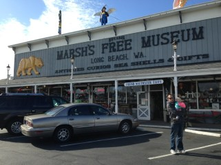 Free museum in Long Beach. Contains vintage arcade games and a number of stuffed animal oddities.