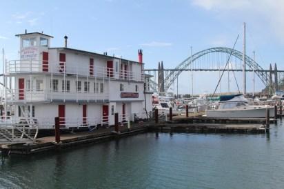 Newport Oregon, harbour