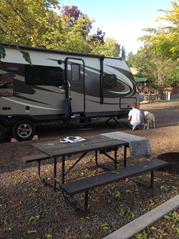 Camp at KOA