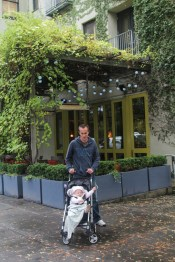 Ry and Dad in Healdsburg