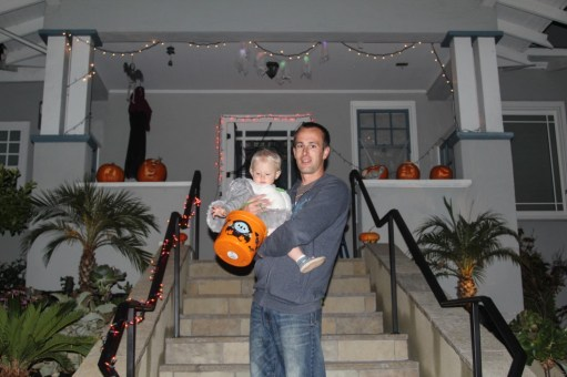 Another successful trick or treat.