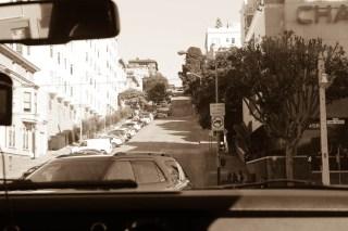 Typical San Fran street