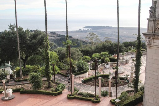 View from Hearst Castle